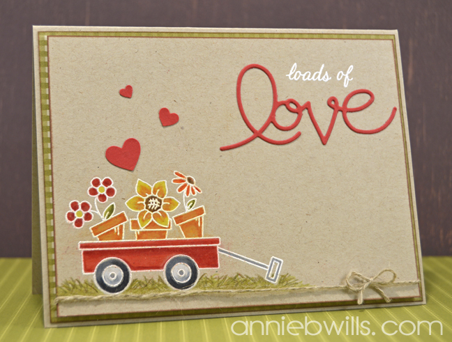 OWH WCMD Loads of Love Card by Annie Williams - Main