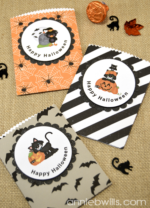 Print and Cut Halloween Treat Bags by Annie Williams - Full Main