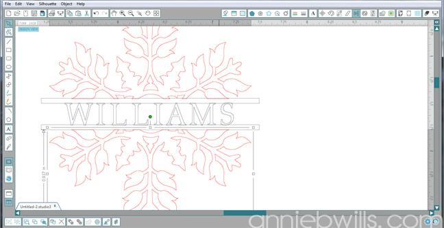 7 Split Monogram Napkins by Annie Williams - Overlap Everything