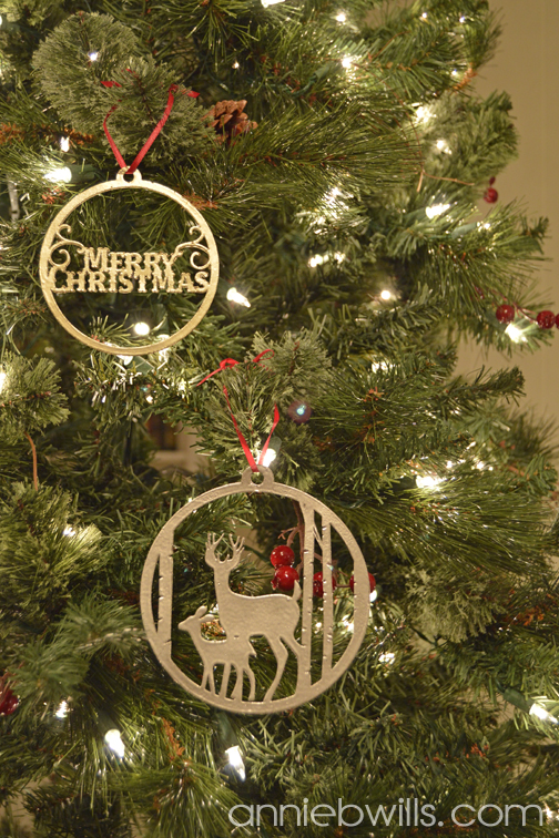 Faux Metal Christmas Ornaments by Annie Williams - Full