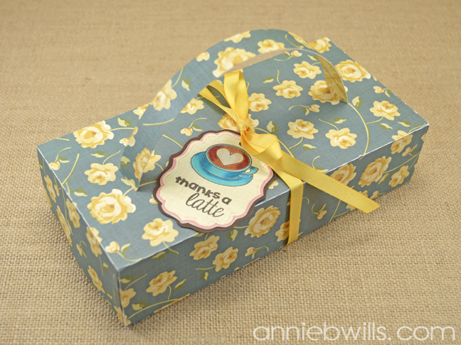 KCup Gift Boxes with Tags by Annie Williams - Blue