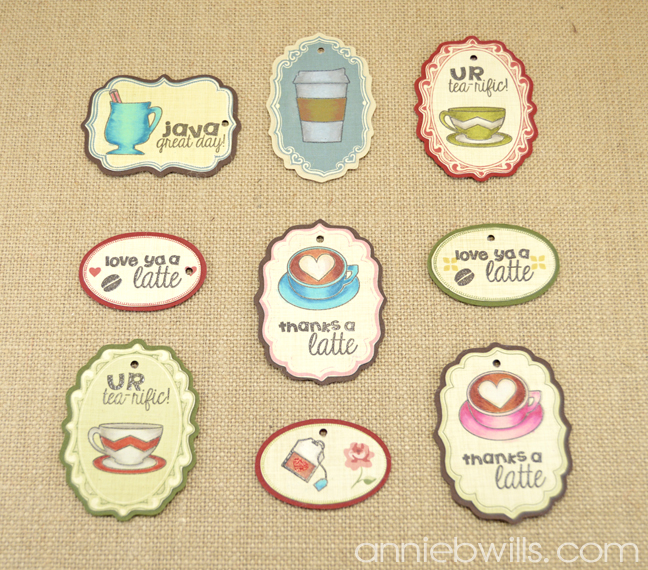 Latte Love Gift Tags by Annie Williams - Main