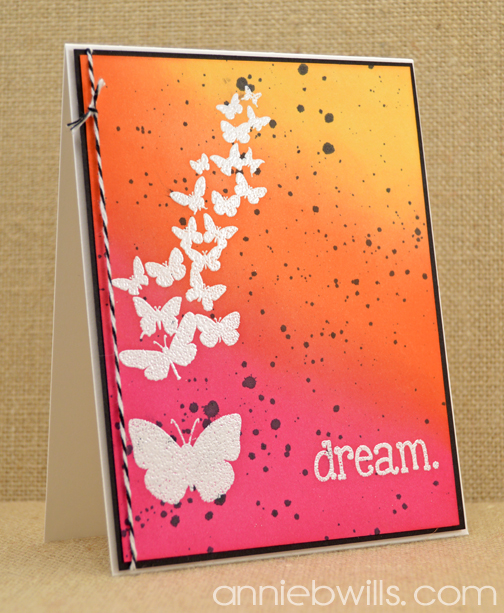 Dream in Color Card by Annie Williams - Orange