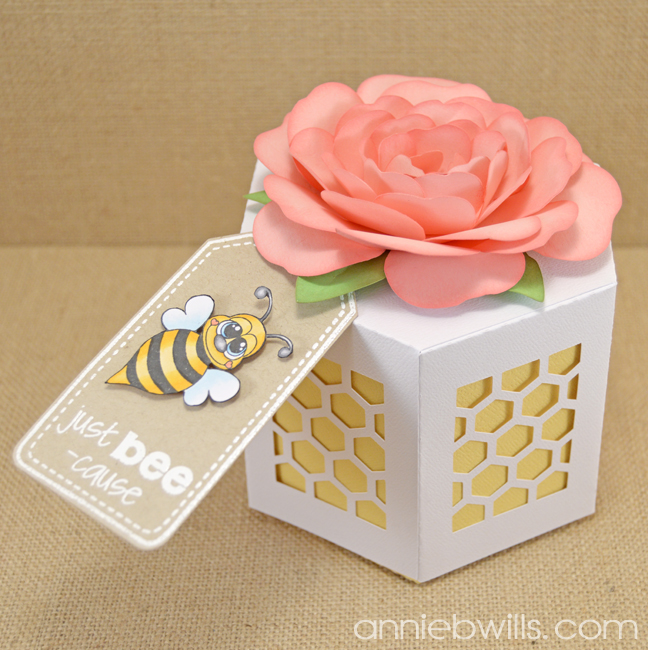 Just Bee-cause Gift Box by Annie Williams - Main