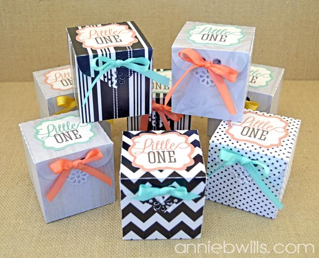 Baby Announcement Favor Boxes Lab Hands – Baby Announcement Boxes