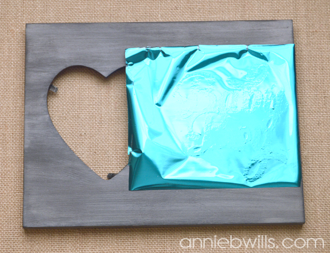Foiled Picture Frame by Annie Williams - Burnish Foil