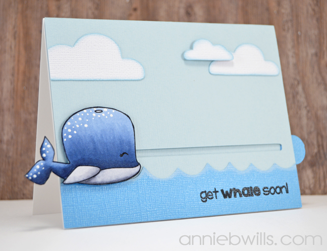 Get Whale Soon Card by Annie Williams - Main