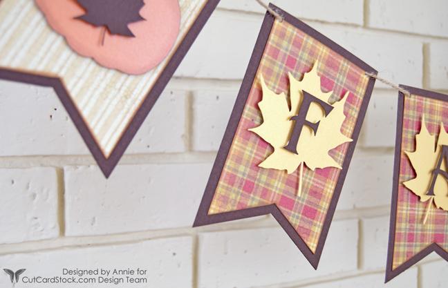 Fall Banner by Annie Williams - Detail