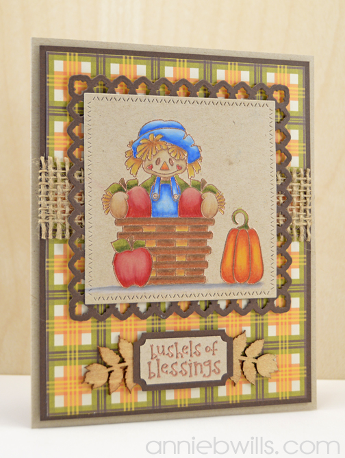 Bushels of Blessings Card by Annie Williams - Main