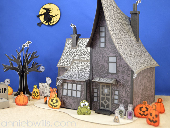 Spook-tacular Blog Hop Haunted House by Annie Williams - Side