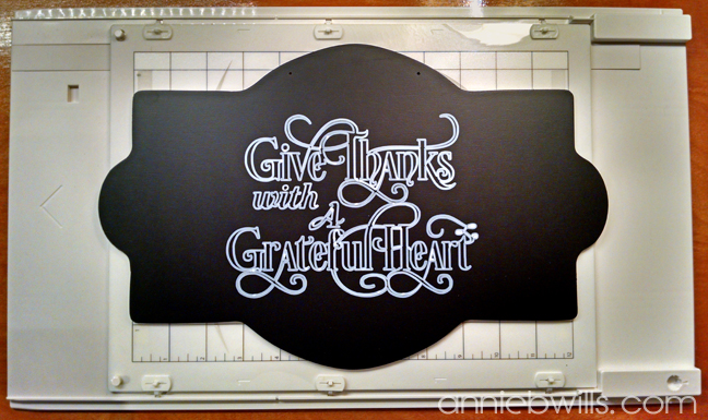 Thanksgiving Chalkboard Sign by Annie Williams - Painted Sign