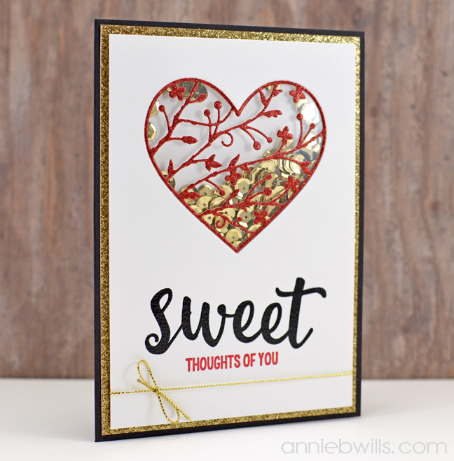 Sweet Shaker Card by Annie Williams - Main
