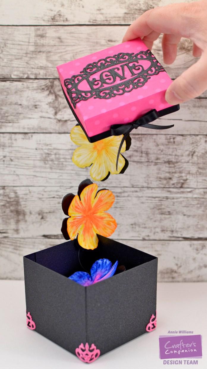 Flower Surprise Box by Annie Williams - WM
