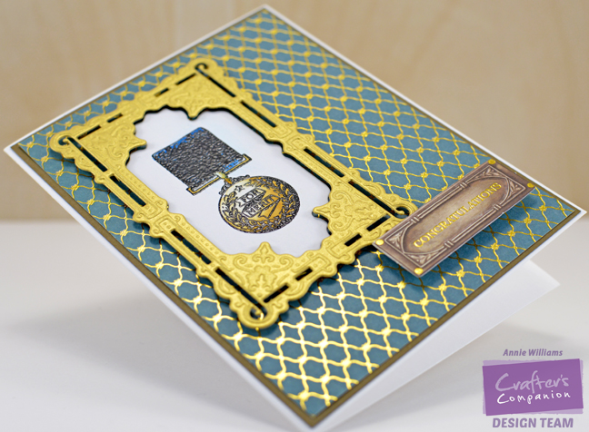 Downton Abbey Graduation Card by Annie Williams - Detail