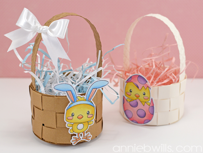 Mini Woven Easter Baskets by Annie Williams - Final