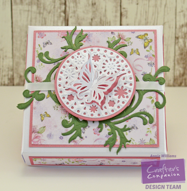 Butterfly Gift Box By Annie Williams - Top