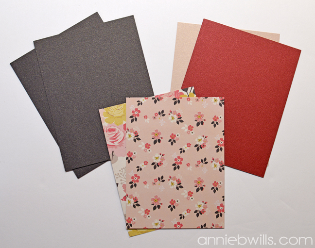 Accordion Envelope Card by Annie Williams - Cut Panels