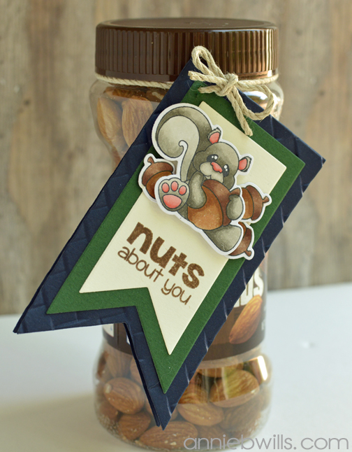 Fathers Day Gift Tag by Annie Williams - Detail