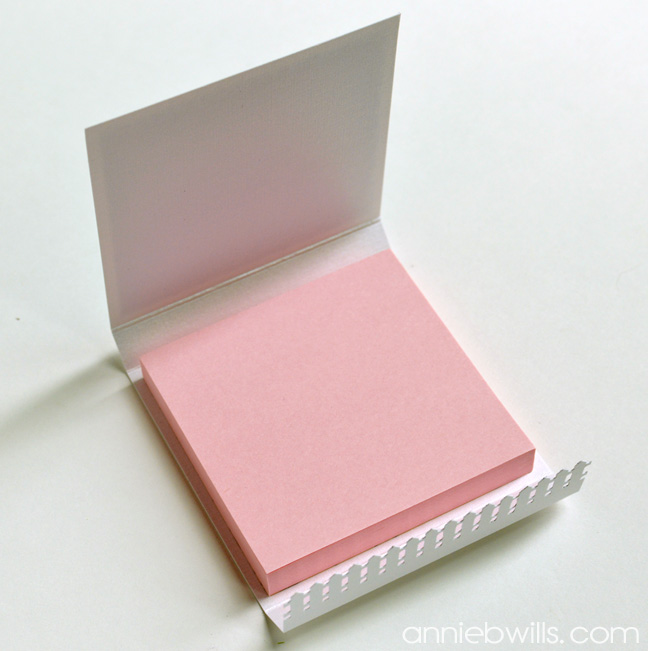 Sticky Note Holders by Annie Williams - Adhere Pad