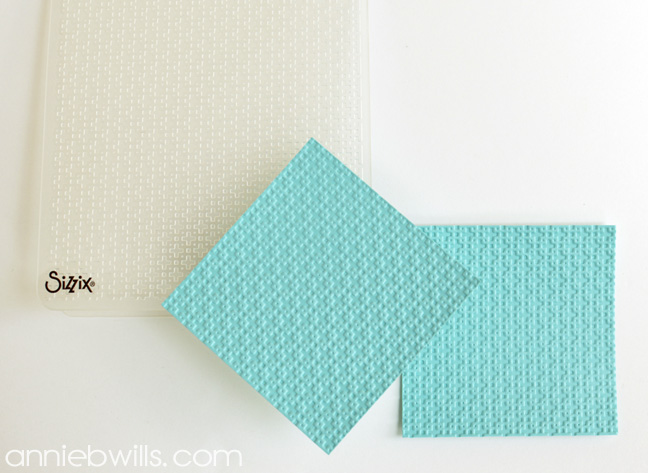 Sticky Note Holders by Annie Williams - Embossing
