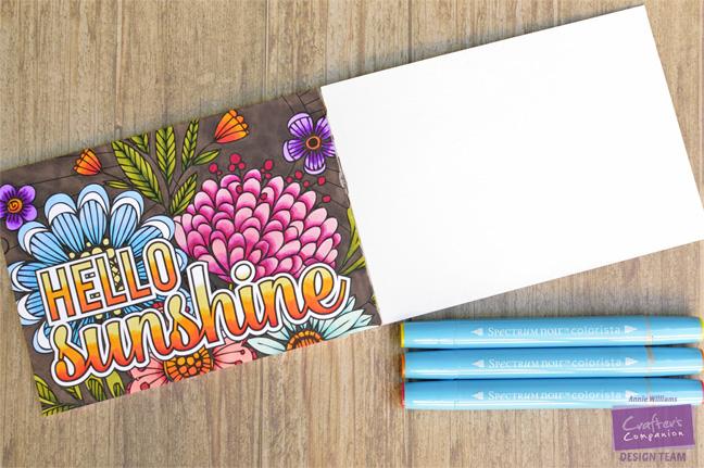 Colorista Sneak Peek by Annie Williams - Hello Sunshine Full