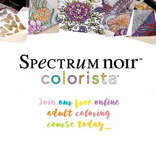 Spectrum Noir Colorista Free Adult Coloring Class