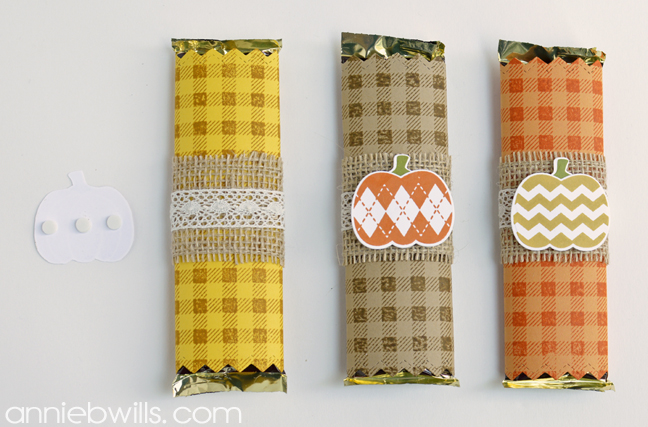 Easy Halloween Candy Bar Wrappers by Annie Williams - Embellish Wrapper