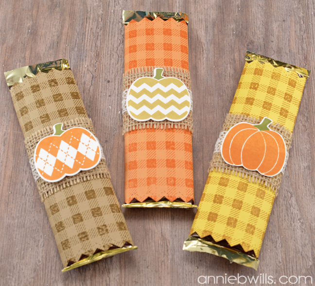 Easy Halloween Candy Bar Wrappers by Annie Williams - Main