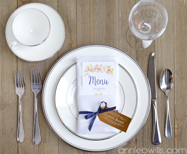 Metal Etched Wedding Place Cards With The Silhouette Curio