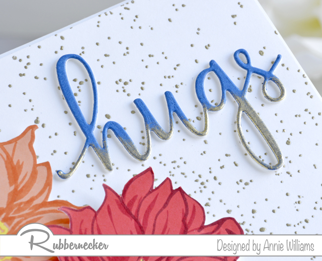 Rubbernecker Blog Florals-and-Hugs-Card-by-Annie-Williams-Sentiment-Detail