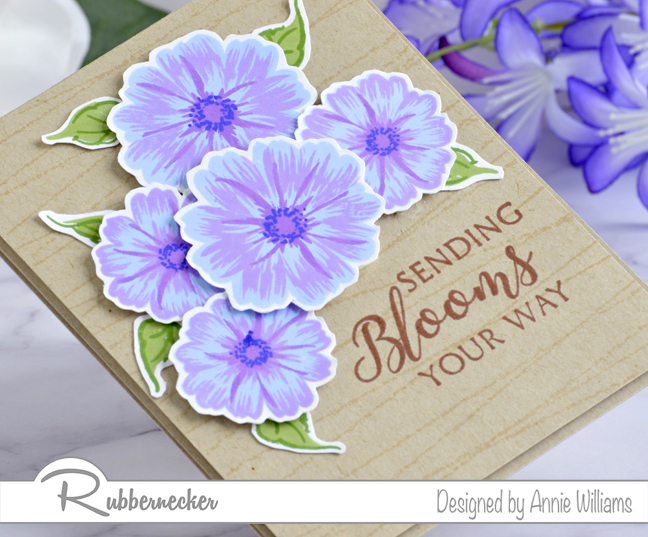 Rubbernecker Blog Sending-Bright-Blooms-Card-by-Annie-Williams-Detail