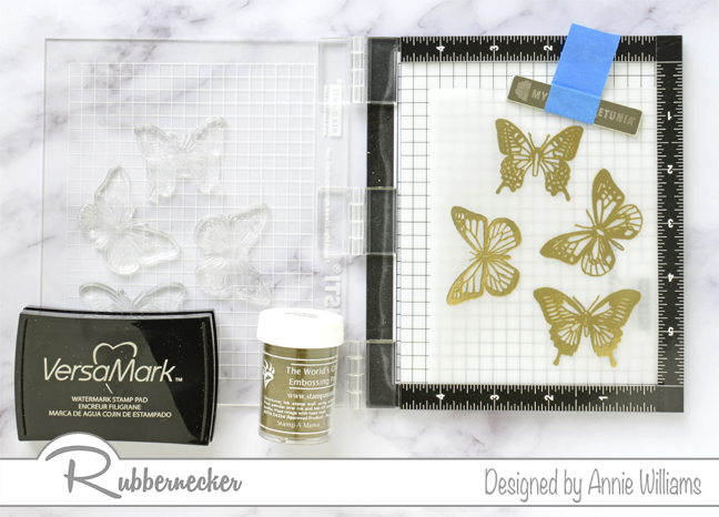 Rubbernecker Blog Loose-Watercolor-Butterfly-Cards-by-Annie-Williams-Butterfly-Stamping