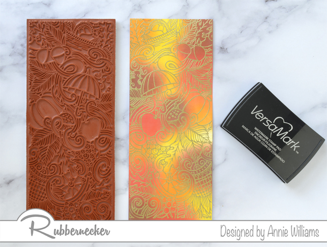 Rubbernecker Blog Autumn-Slimline-Cards-with-Selective-Josephs-Coat-Technique-by-Annie-Williams-Hurray-For-Fall-Stamping