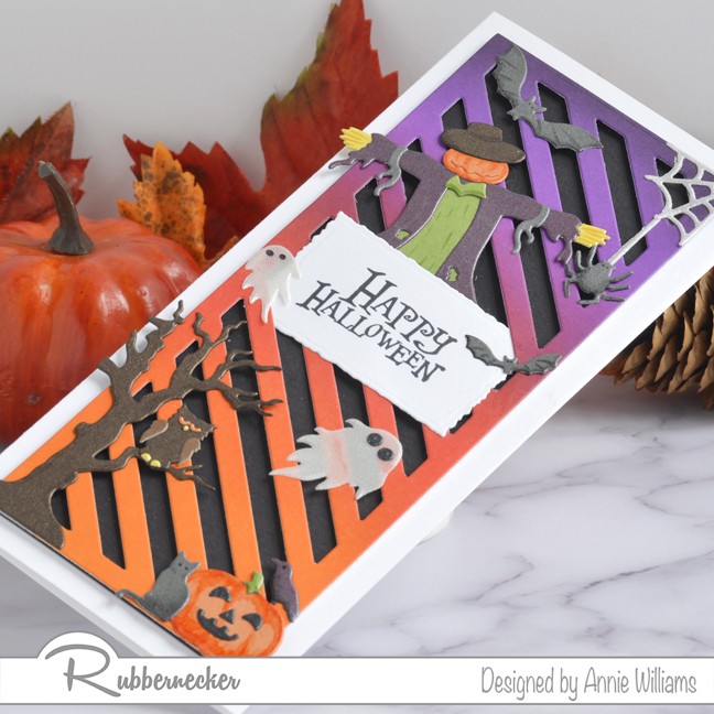 Rubbernecker Blog Spooky-Halloween-Slimline-with-Die-cuts-by-Annie-Williams-Detail