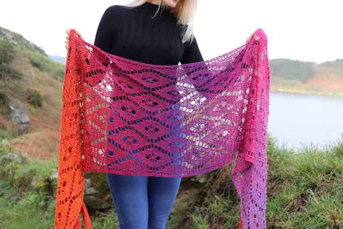 Aideen Wrap - Crochet pattern from Annie Design in Scheepjes Whirl