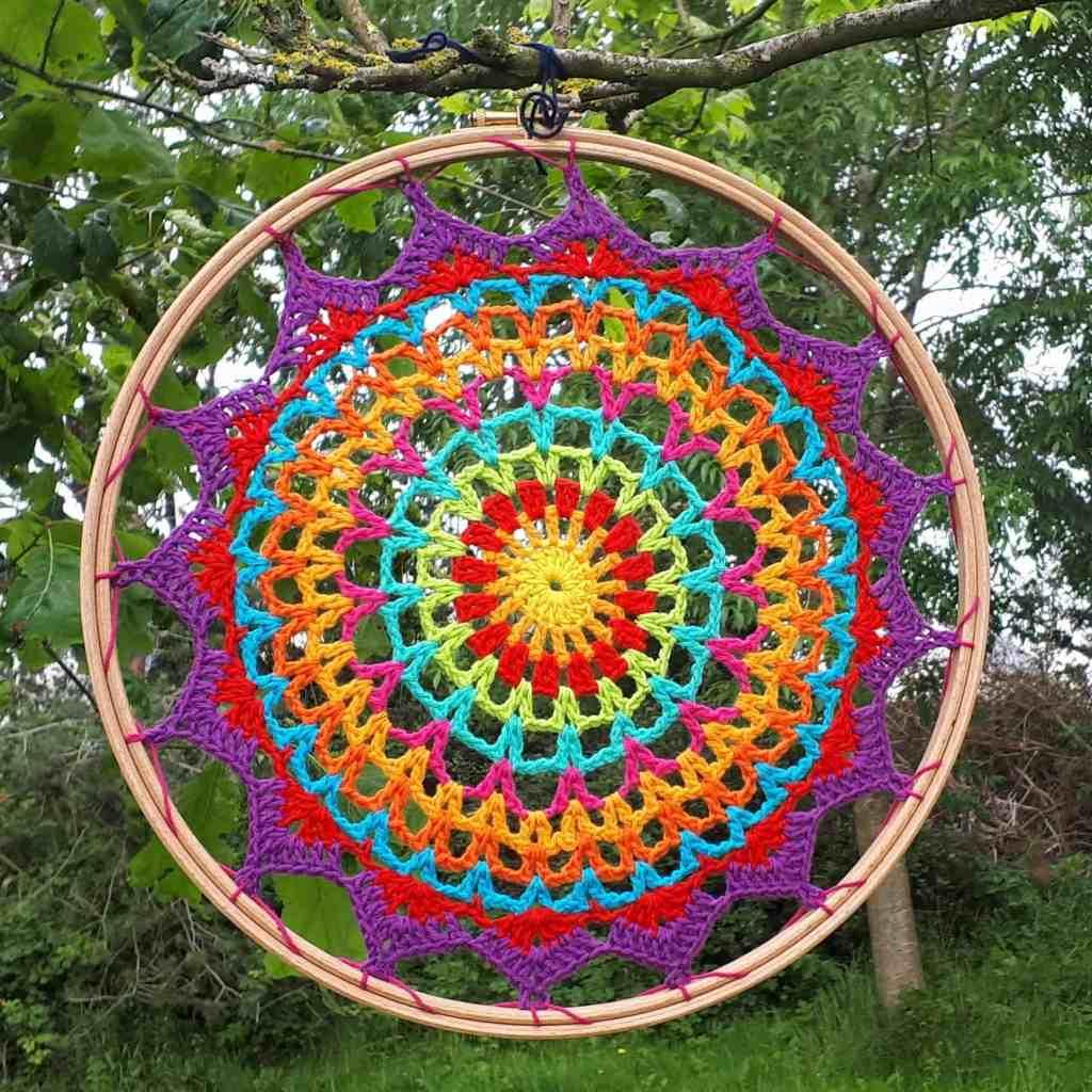 Summer Mandala – Free Crochet Pattern