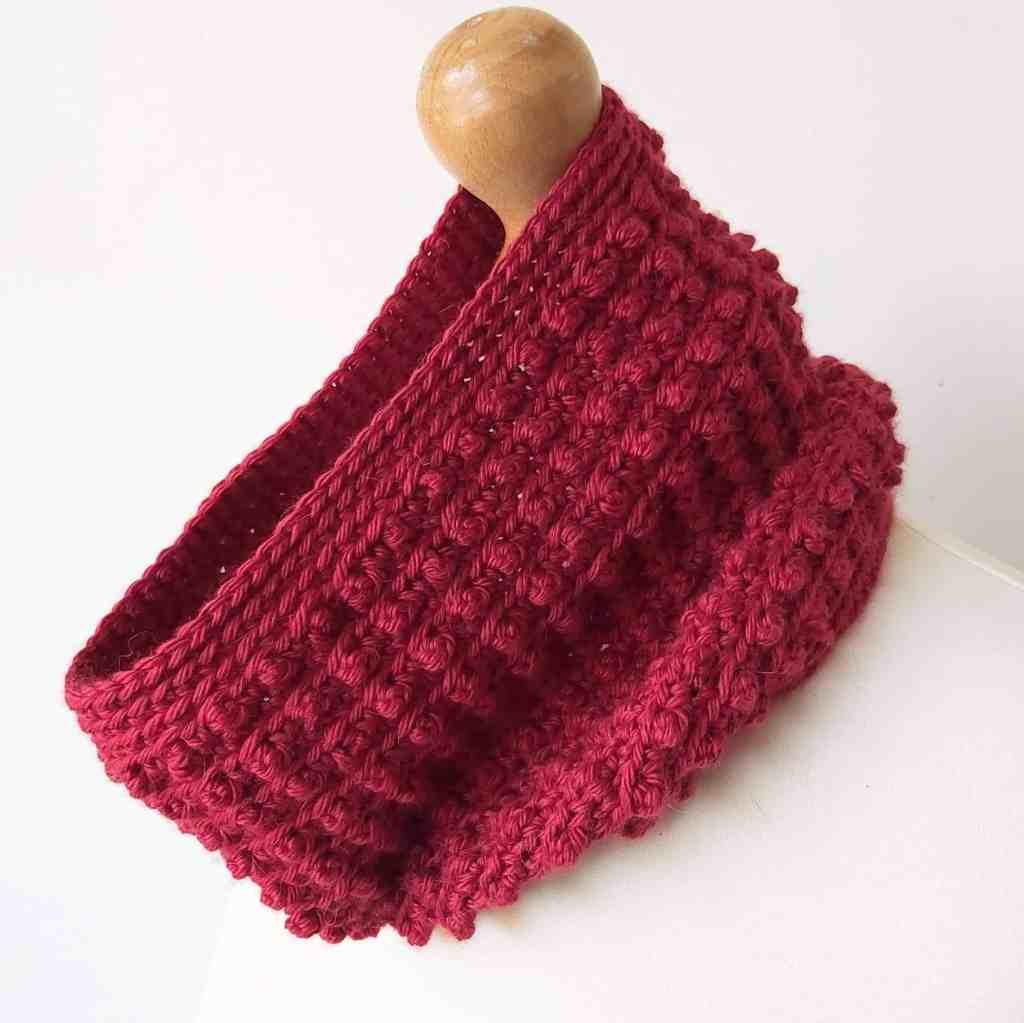 Crochet Cowl Neck Warmer – Free Pattern