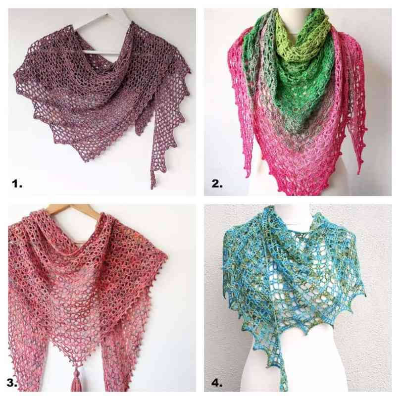 crochet shawls free patterns