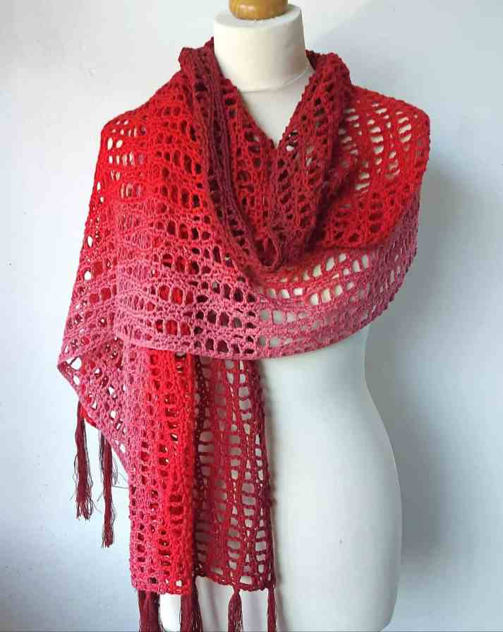 Crochet A Scarf For Beginners Step By Step Slowly