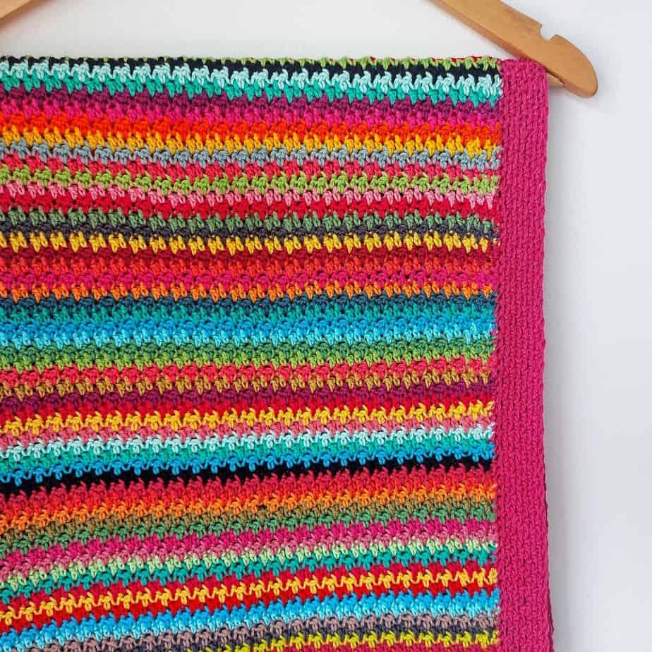 Crochet Stash Buster Blanket