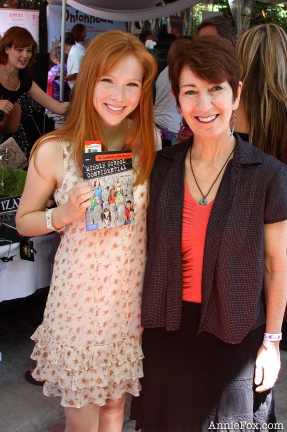 Annie FoxHey Terra  Molly Quinn  What makes a real friend