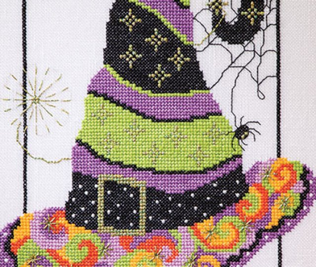 Just Crossstitch Halloween  Loading Special Collectors Issue With  Spooky Designs For Halloween