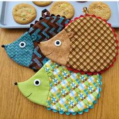 Kitchen Hot Pads Drawer Hardware Pot Holder Sewing Patterns Hedge Fun Pad Pattern Adorable To Add Some Whimsy Your Decor