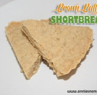 Daring Bakers Challenge: November – Brown Butter Shortbread
