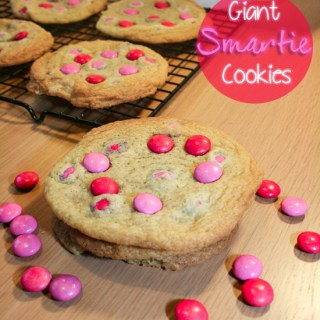 Giant Smartie Cookies