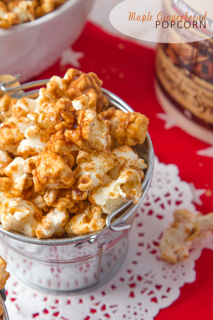 Maple syrup, plenty of ginger and some light brown sugar make this the perfect, easy to make snack!