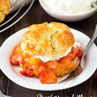 Strawberry and Mango Shortcakes