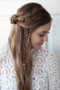 Hair Tutorial: Two Easy Side Braids to Try This Summer ...