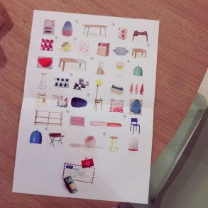 Flyer of the Hartô-collection in sept. 2014