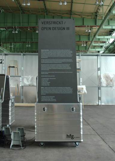 Exhibition at DMY 2011 together with Prof. Frank Zebner and Jochen Leinberger